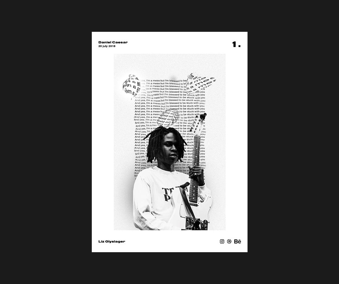 Daniel Caesar Poster