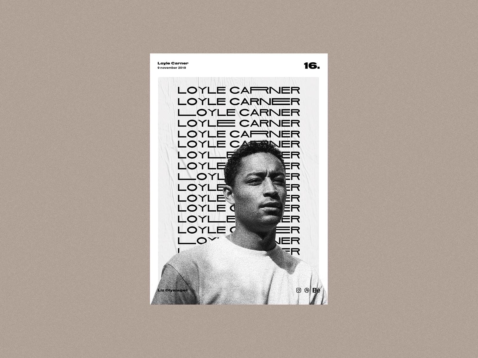 LoyleCarner-poster